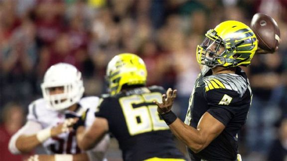 Oregon Tied At Wazzu