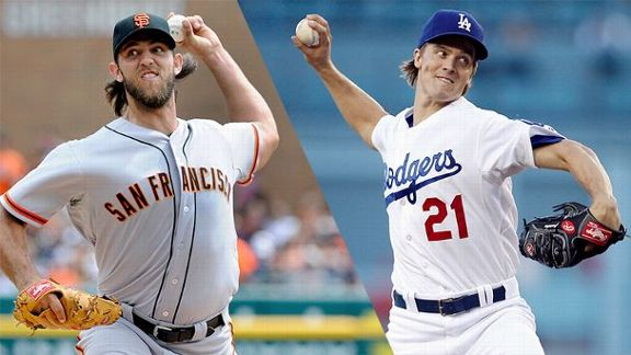 NL West Pitching Showdown