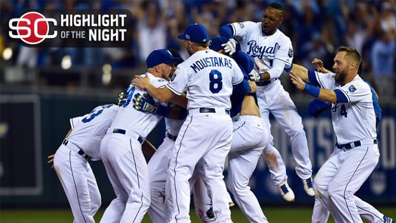 Royals' Rallies Bounce A's