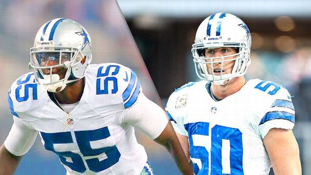 Rolando McClain and Sean Lee