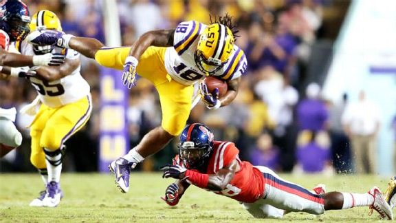 LSU Picks Off Ole Miss