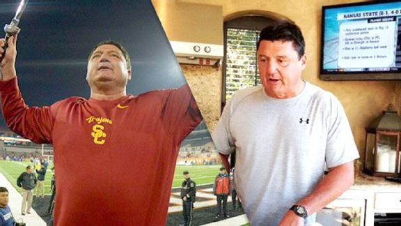 A Saturday With Orgeron