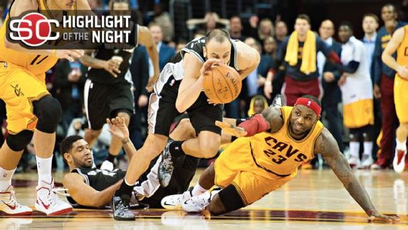 Spurs Slip Past Cavs Late