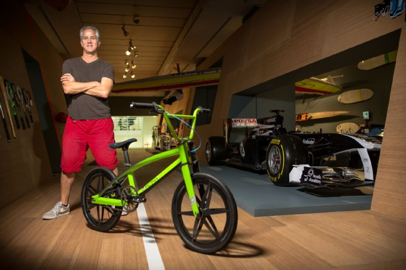 Freestyle BMX inventor Bob Haro discusses new brand Ikonix
