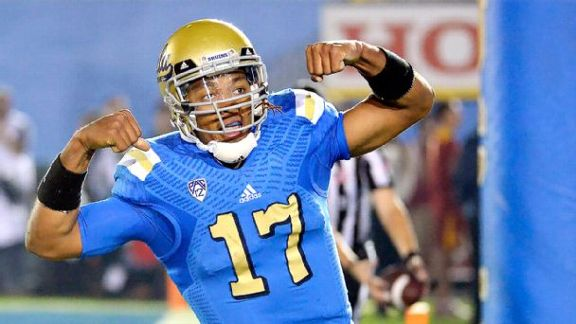 Hundley Has UCLA In Control