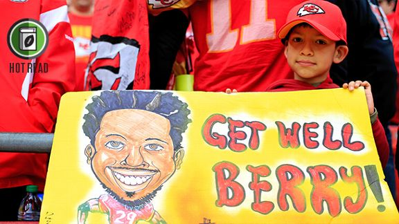 Chiefs' Concern: Berry's Health