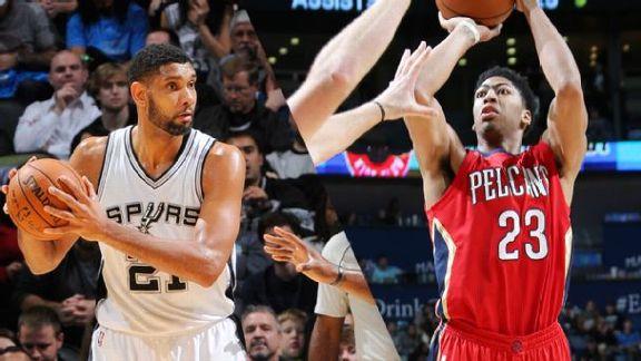 Pelicans Push Past Spurs