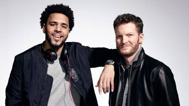 J.Cole, Dale Earnhardt Jr.