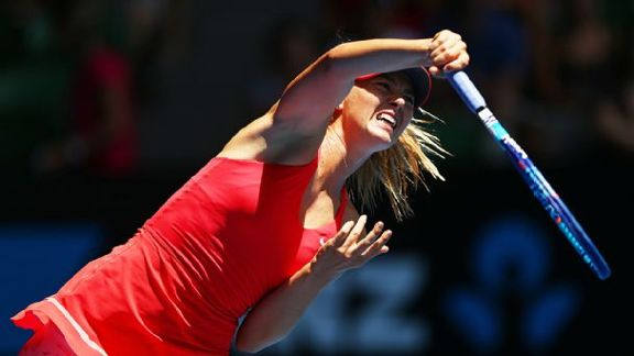 Sharapova Moves On