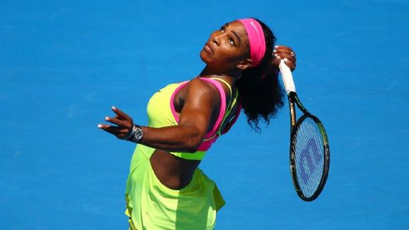 Serena Rallies In Australia