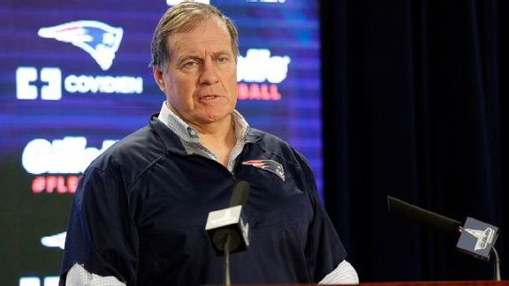 Belichick Not Backing Down