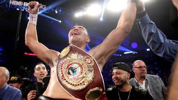 Rios Beats Up Alvarado