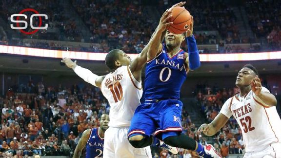 Mason Leads KU Past Texas