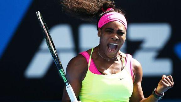 Serena Gets Past Keys