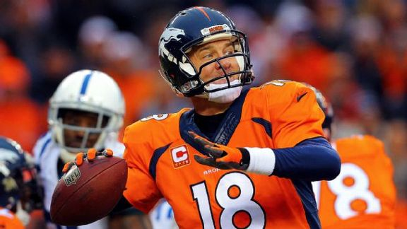 Same Goal For Peyton, Broncos