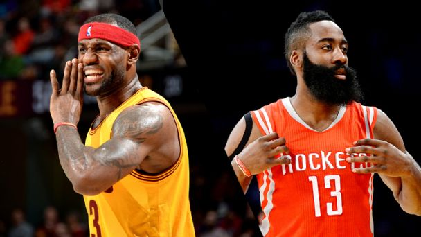 LeBron James, James Harden