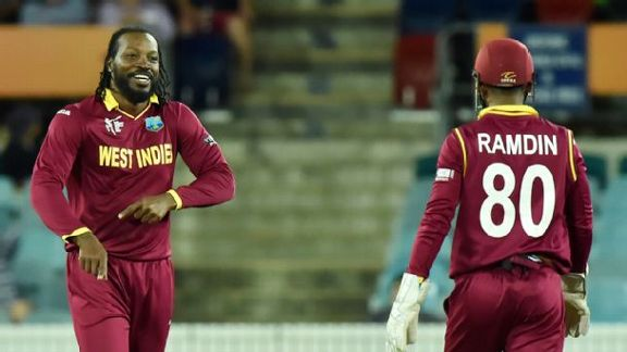 West Indies' Gayle Force