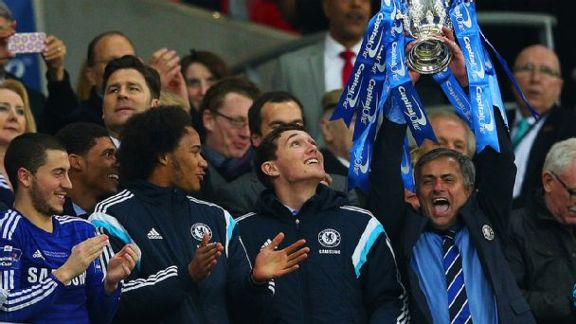 Mourinho's Cup Runneth Over