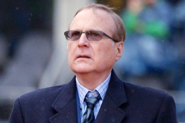 Seahawks, Trail Blazers owner Paul Allen dies at 65