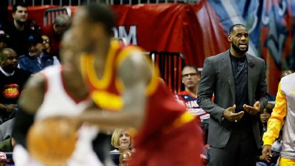 LeBron Ready To Test Hawks