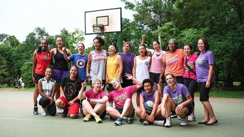 Paula Korsakas Park Basketball