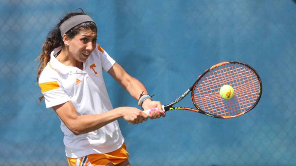 Vols women's tennis win first sec match