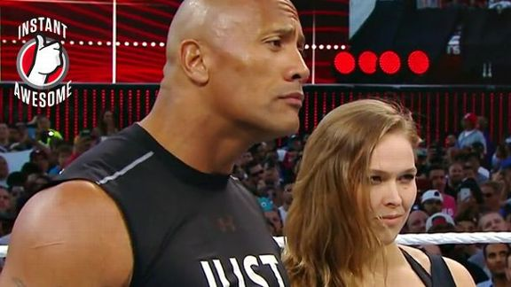 Rousey Invades WrestleMania