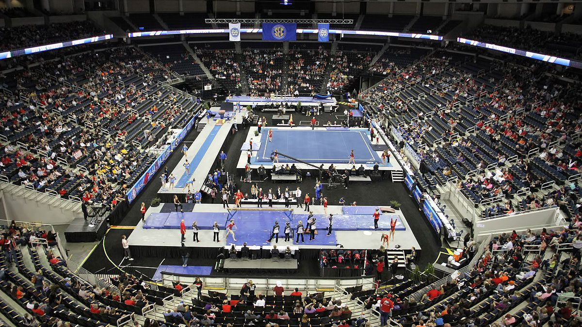 Tickets On Sale For 2016 Sec Gymnastics Championship