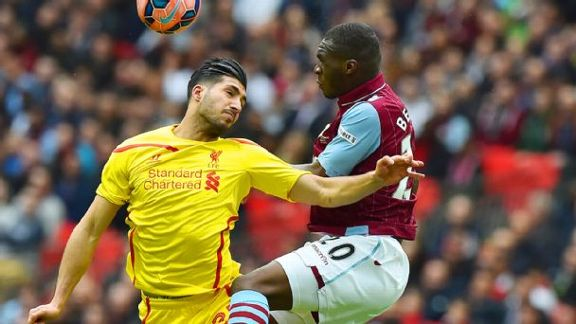 Follow FA Cup Semis: Liverpool-Aston Villa