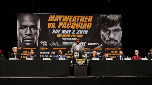 Fight Credential: Mayweather-Pacquiao