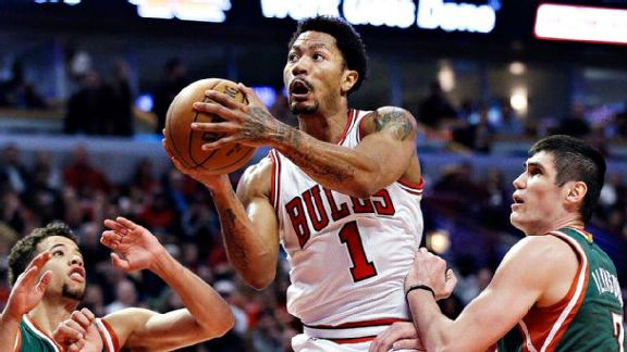 Vintage D-Rose means trouble for Bucks