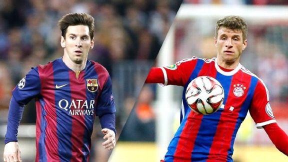 Live analysis: Barcelona-Bayern Munich