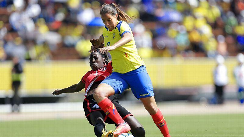Image result for women's football ecuador