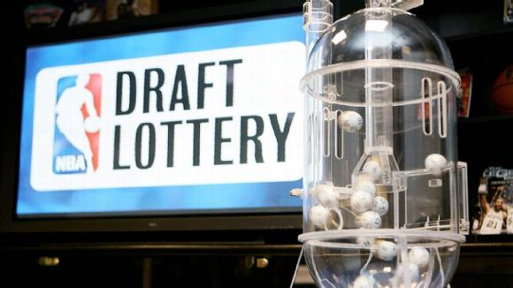 NBA Draft Lottery Machine