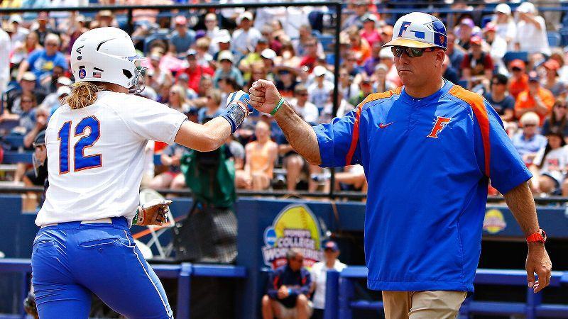 Florida named NFCA Coaching Staff of the Year