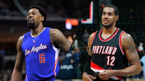 DeAndre Jordan and LaMarcus Aldridge