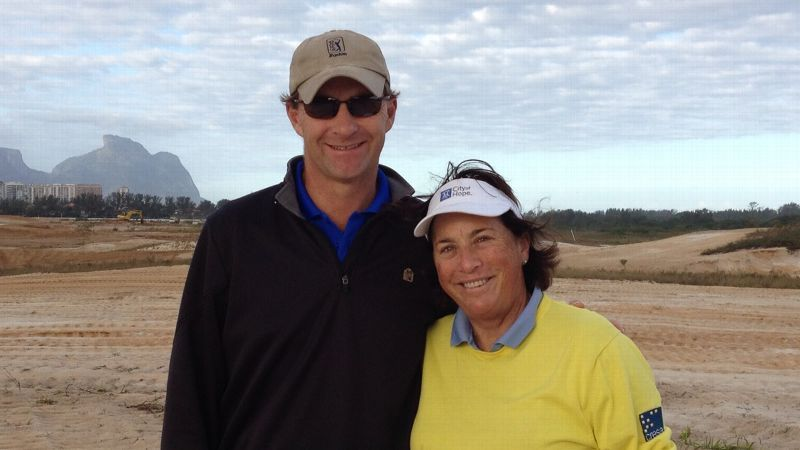 These Days Amy Alcott Is Involved In Olympic Golf Course Design