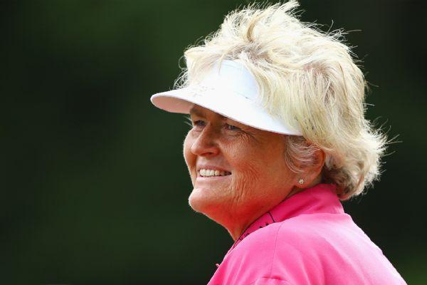 Laura Davies leads Juli Inkster by 1 at Senior LPGA Championship