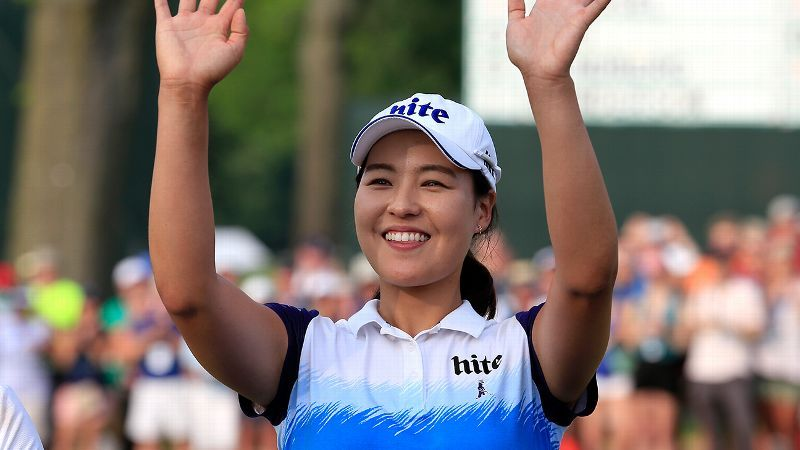 In Gee Chun Makes Us Womens Open Debut A Memorable One
