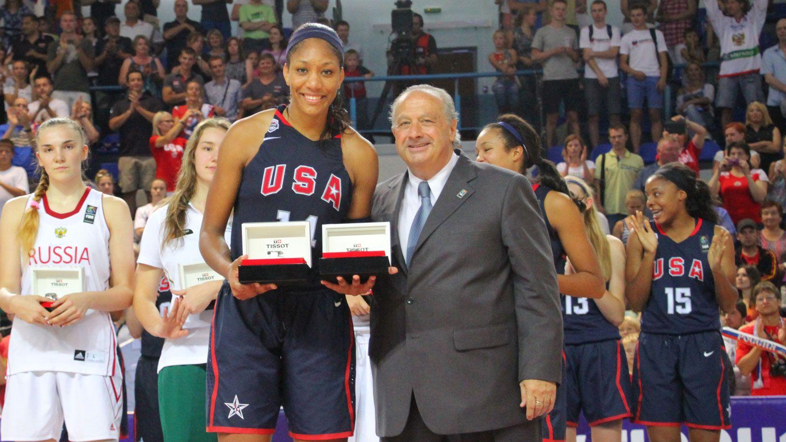 A'ja Wilson powers U.S. to FIBA gold