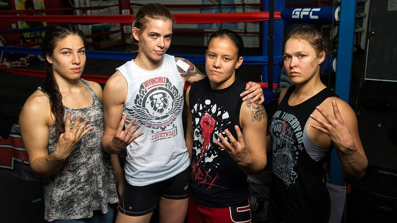 Image result for Four Horsewomen UFC WWE