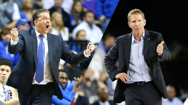 John Calipari, Mark Few
