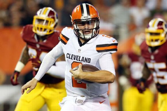 johnny manziel cleveland browns see mixed results in loss