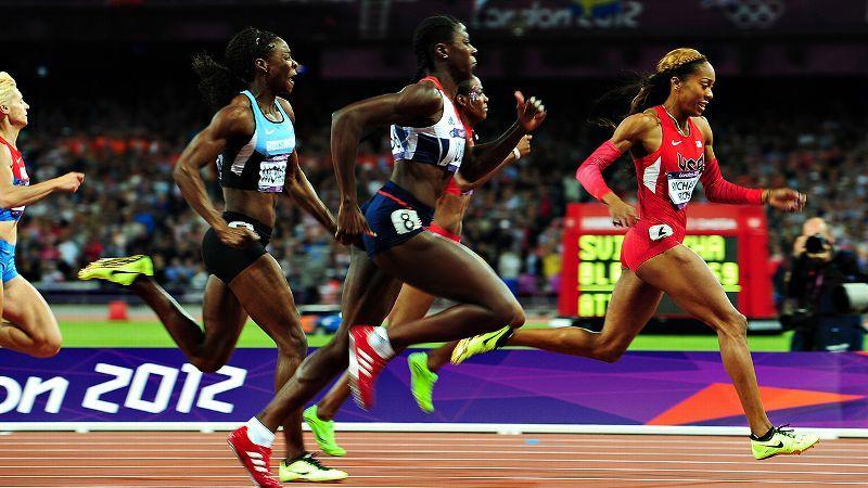How U S  Olympic Sprint Champ Sanya Richards-Ross Trains