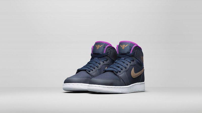 wholesale dealer d8247 6c7ec WNBA Star Maya Moore Kicks Big Game With Exclusive Jordan Sneakers