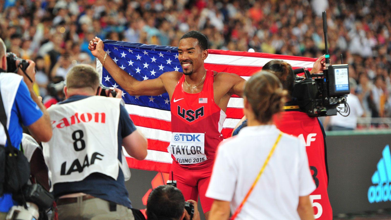 UF's Taylor wins gold at World Championships