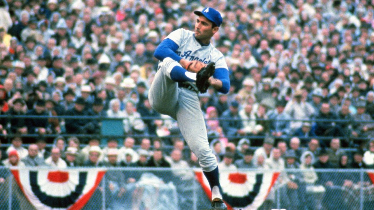 Los Angeles Dodgers legend Sandy Koufax's decision not to ...