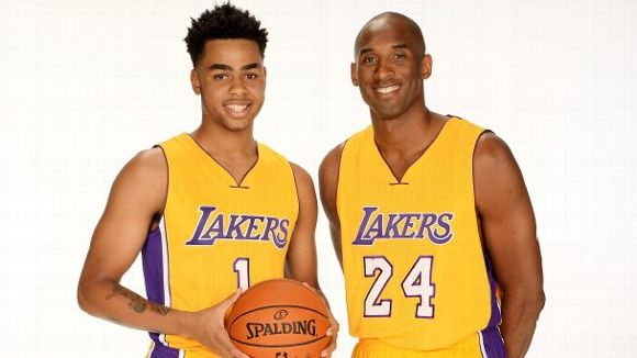 Kobe Bryant, D'Angelo Russell
