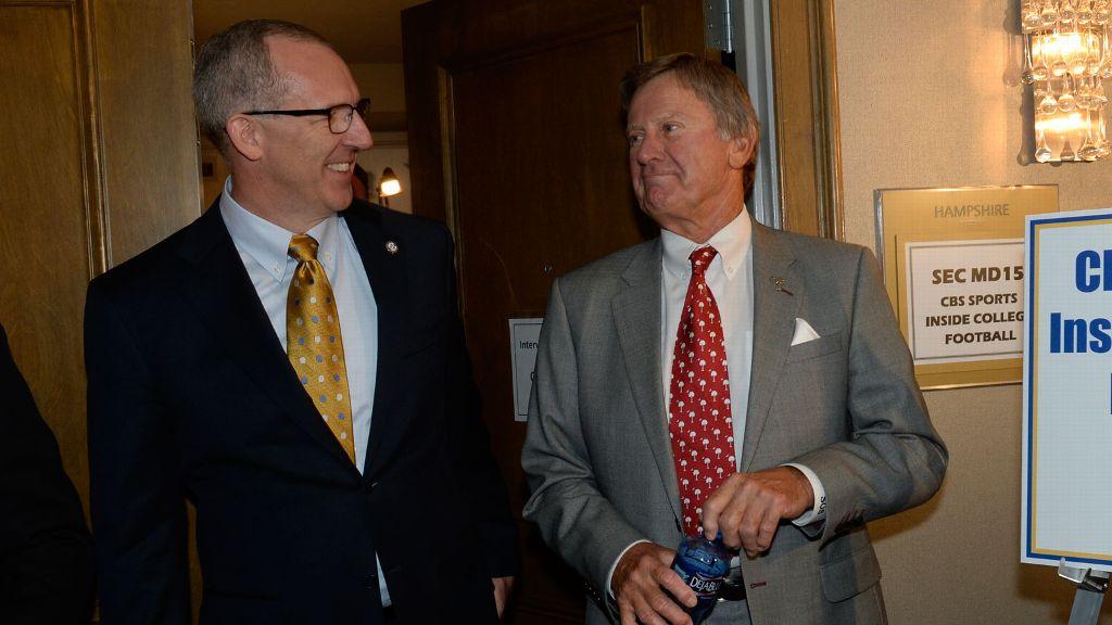 Commissioner comments on Spurrier