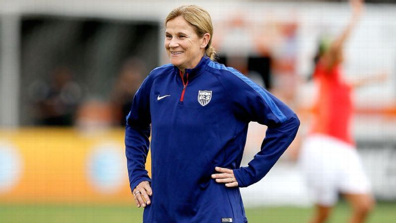 What's Next For The U.S. Women's National Team? :    Jill Ellis, Head coach of the United States Women's National Soccer Team
